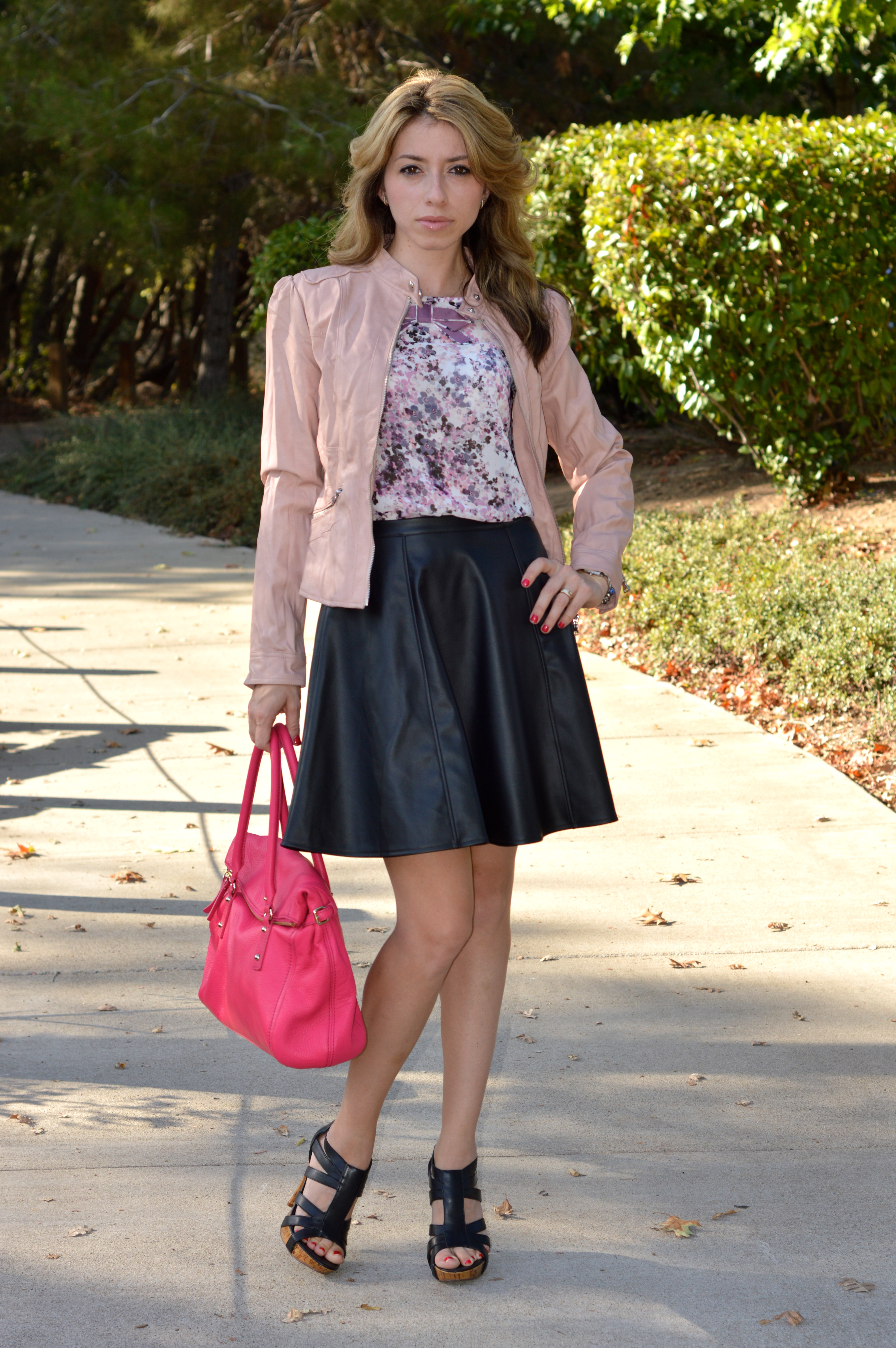 how to wear a leather skirt for fall easy styling tips