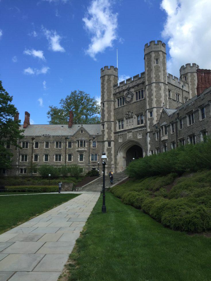 Visiting Princeton Uni...