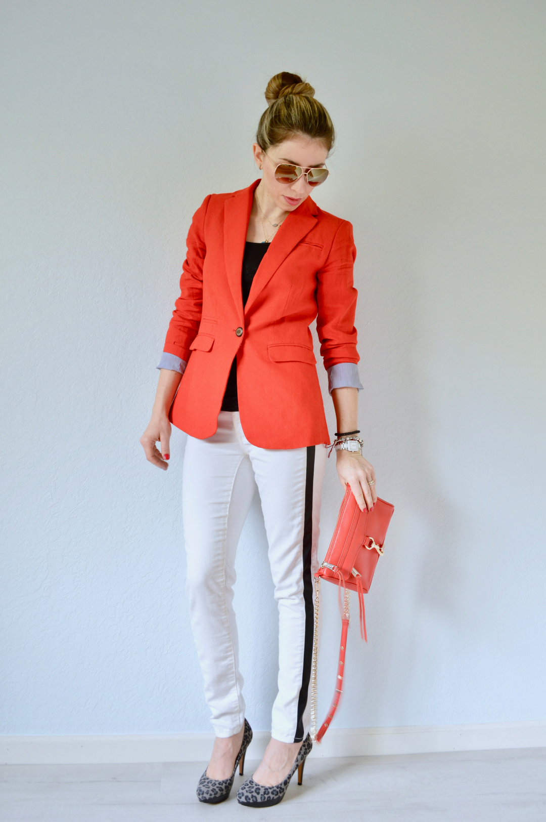 Long Length Boyfriend Blazer: A slightly relaxed fit and long length give it that easy