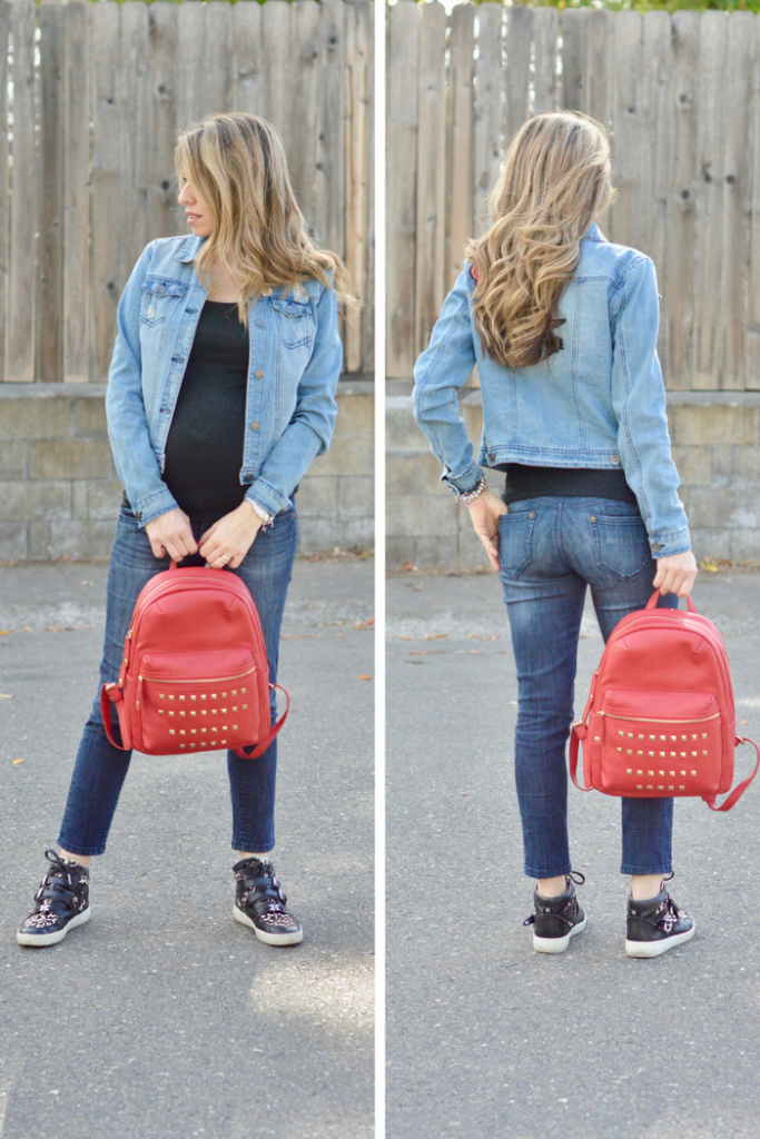 red bag outfit ideas