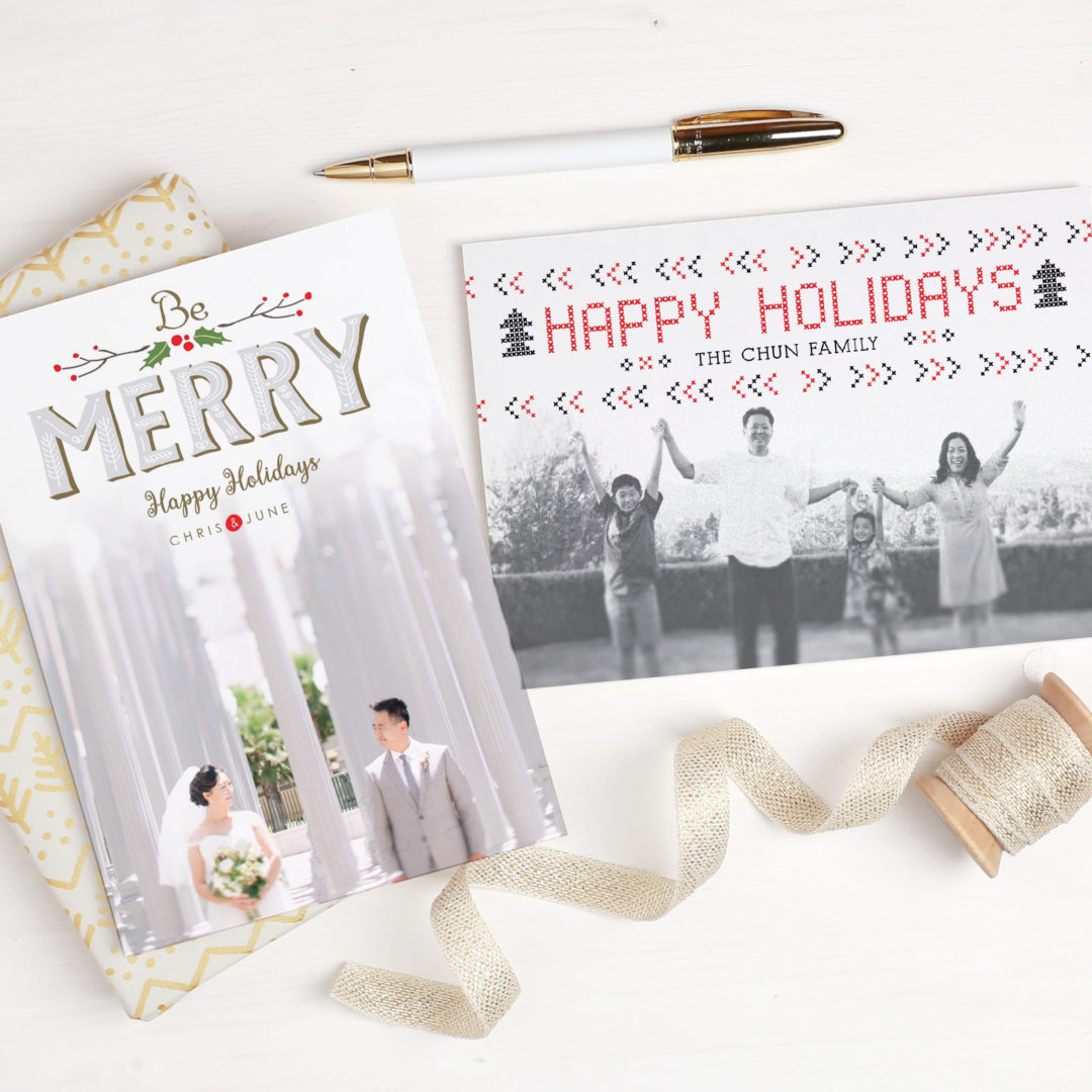 Custom Holiday Invitations