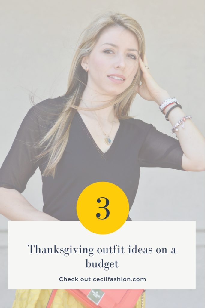 3 Thanksgiving outfit ideas on a budget. I picked different color theme outfits because everyone has a different style. Don't stress out about your outfit. Always choose something you feel comfortable wearing.